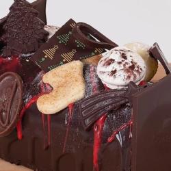 Erico chocolatier, bûche de Noël