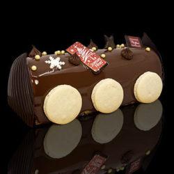 Bûche de Noël, Praline et Chocolat